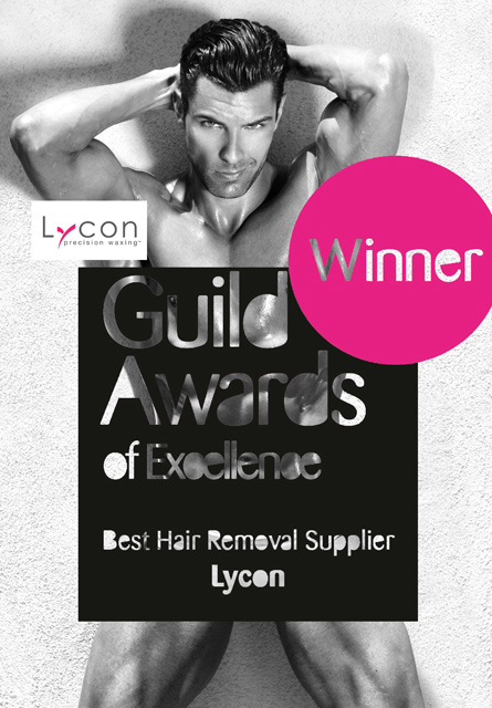 Winner: Lycon, Guild Awards of Excellence. Best Hair Removal Supplier